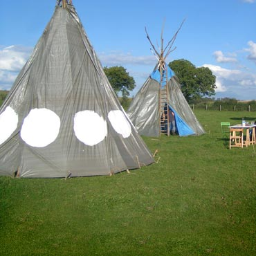 fabrication d 39 un tipi