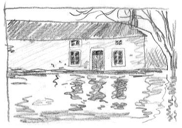 Dessin de maison de campagne - Maison de campagne dessin ...