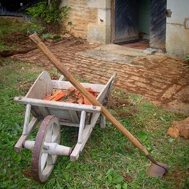 Petit jardin de campagne - Nettoyer les paves autobloquants ...